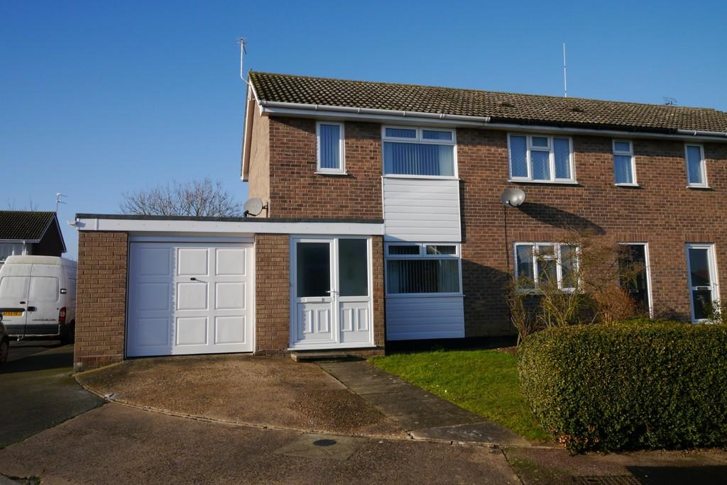 2 Bedrooms End Of Terrace House for sale in Catchpole Close, Kessingland, Lowestoft