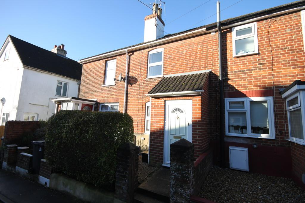 2 Bedrooms Terraced House for sale in HIGHFIELD ROAD, SALISBURY, WILTSHIRE, SP2 7LZ