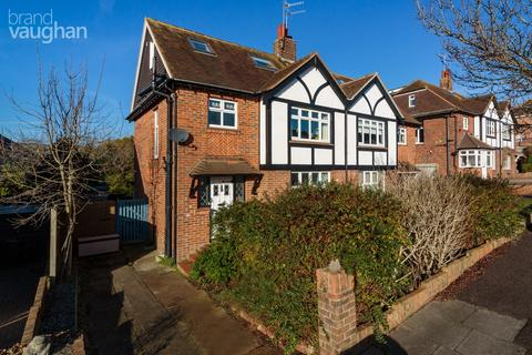 4 bedroom semi-detached house for sale - Queen Victoria Avenue, Hove, BN3