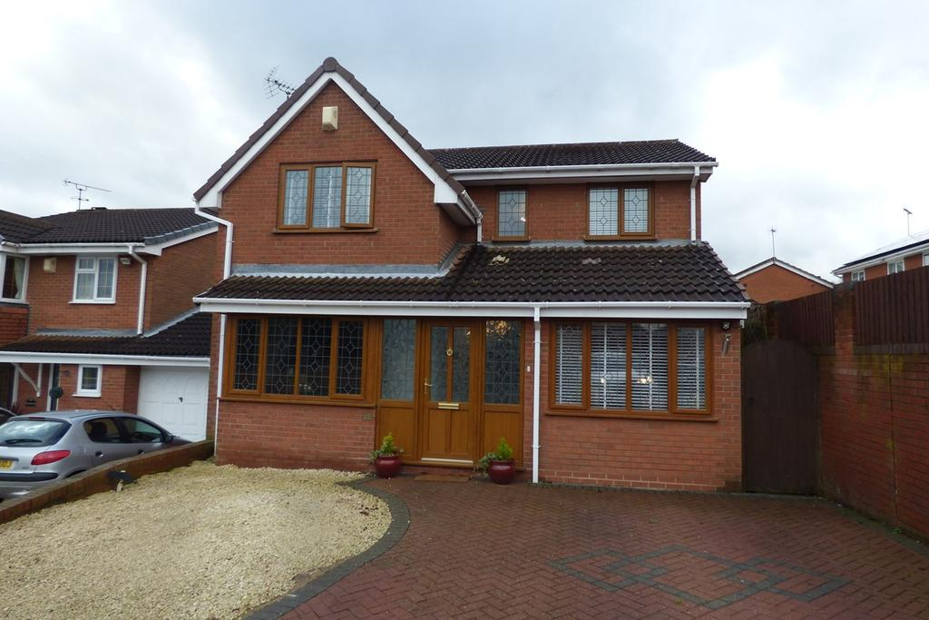4 Bedrooms Detached House for sale in Chaucer Drive, Galley Common, Nuneaton, CV10