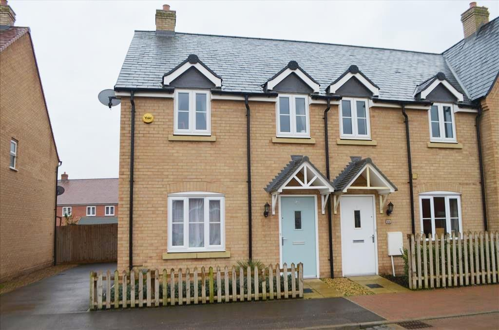 3 Bedrooms End Of Terrace House for sale in Rutherford Way, Biggleswade, Biggleswade, SG18