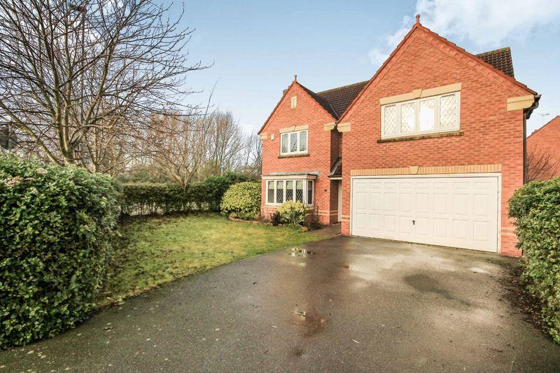 4 Bedrooms Detached House for sale in COURTWAY, CRESCENT, CHELLASTON