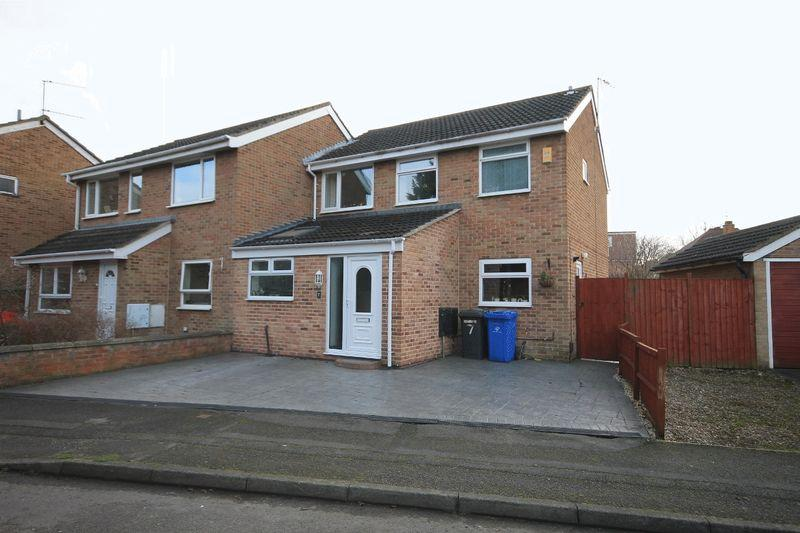 3 Bedrooms Semi Detached House for sale in BRIDLE CLOSE, CHELLASTON