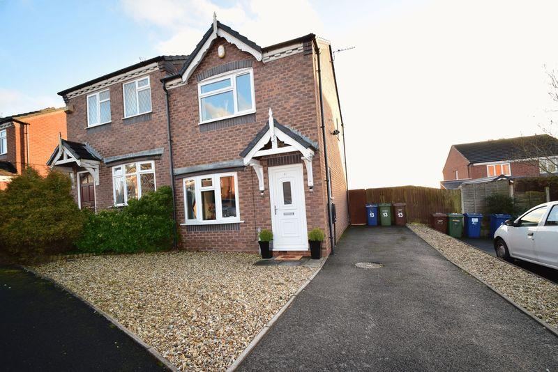 2 Bedrooms Semi Detached House for sale in Hodson Way, Heath Hayes, Cannock