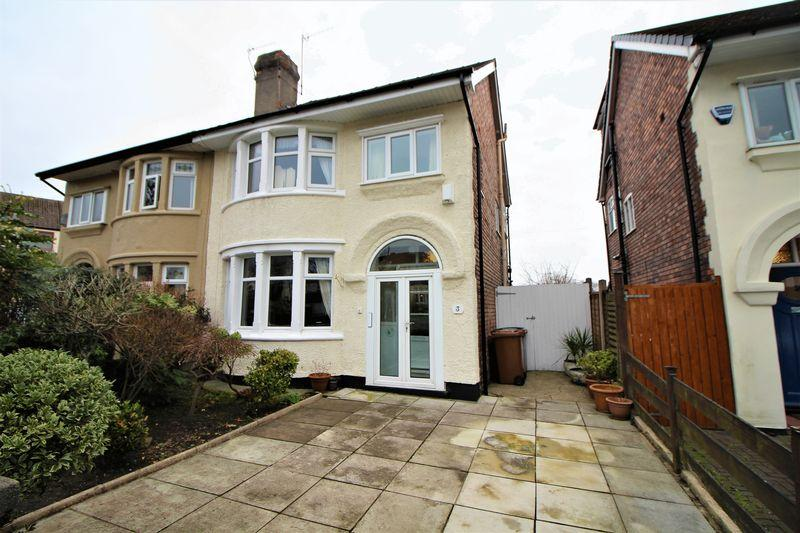 3 Bedrooms Semi Detached House for sale in Kings Lane, Higher Bebington