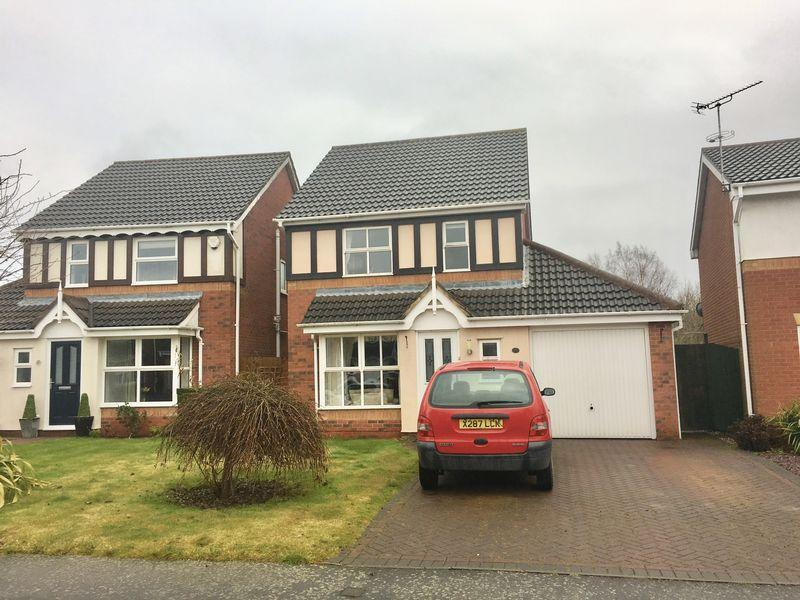 3 Bedrooms Detached House for sale in Thorpe Downs Road, Swadlincote