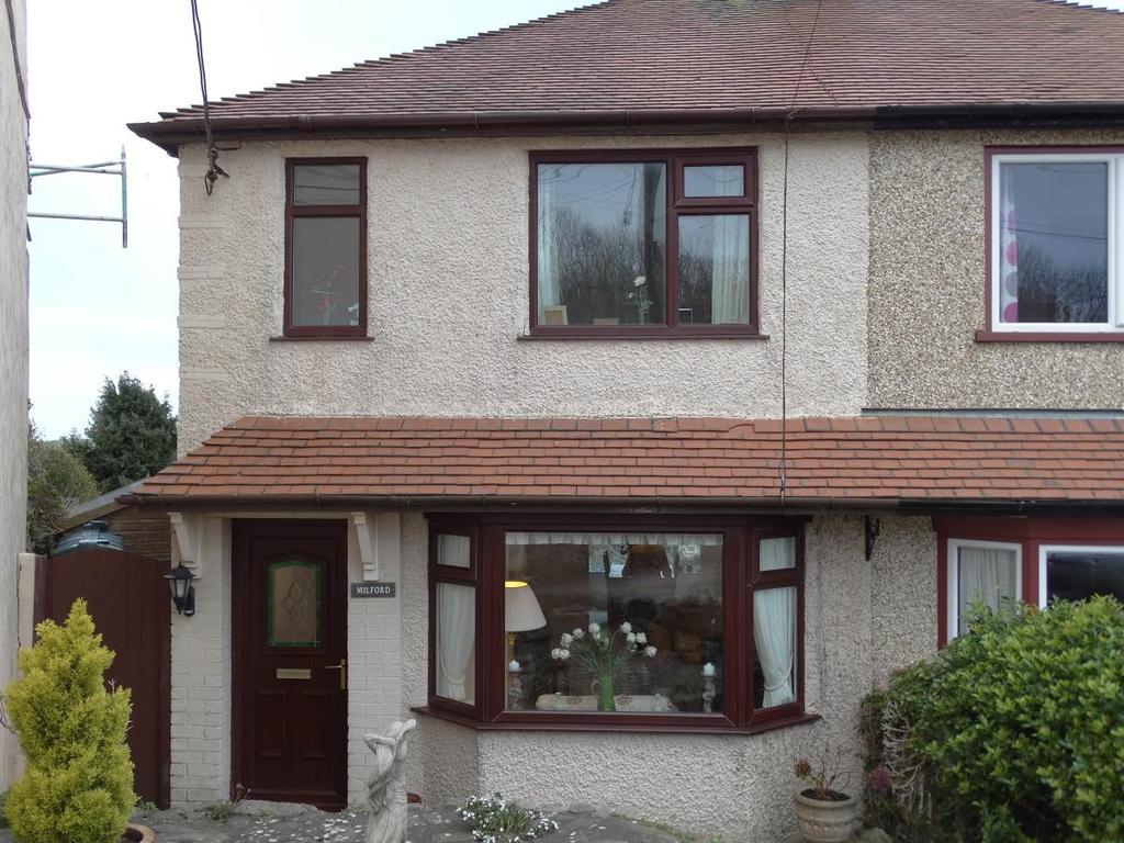 2 Bedrooms Semi Detached House for sale in Milford Bron Y Llan Road, Llysfaen, LL29 8TP