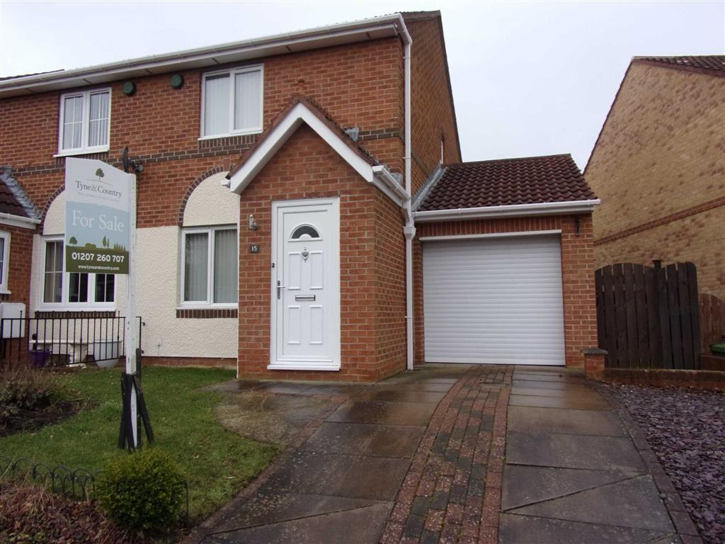 2 Bedrooms Semi Detached House for sale in Cowell Grove, Rowlands Gill, Tyne Wear
