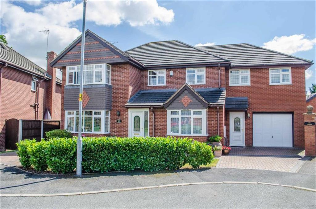 5 Bedrooms Detached House for sale in Darland Lane, Rossett, Wrexham, Rossett