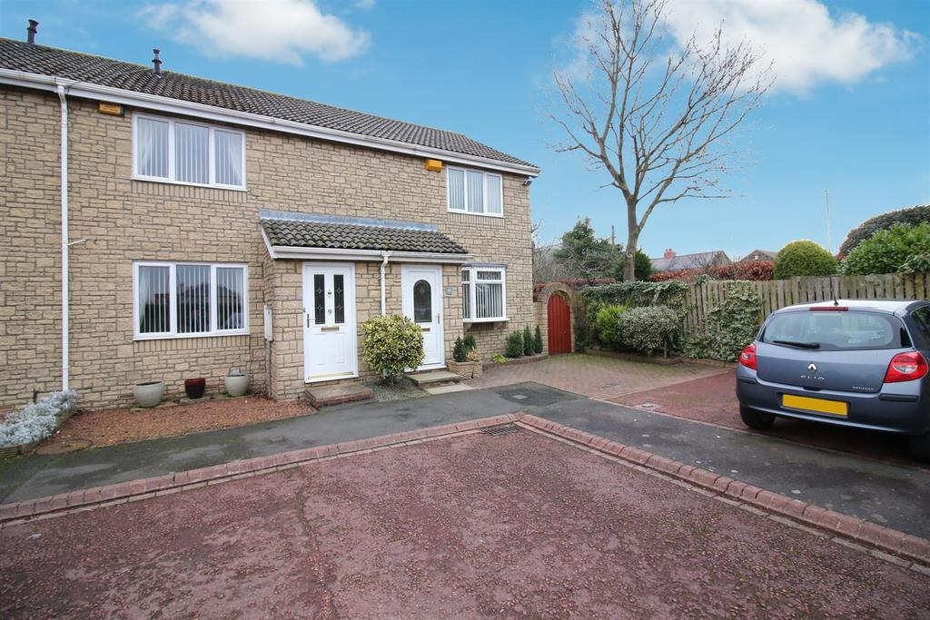 2 Bedrooms Terraced House for sale in Garden Close, Seaton Burn, Newcastle Upon Tyne