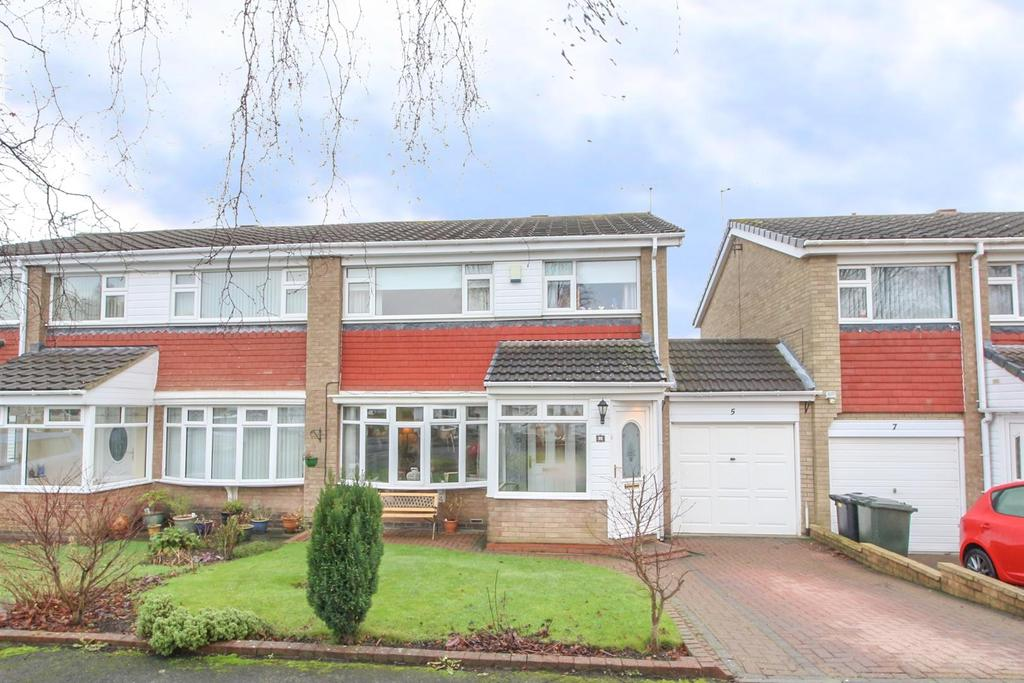 3 Bedrooms House for sale in Norham Close, Wideopen, Newcastle Upon Tyne