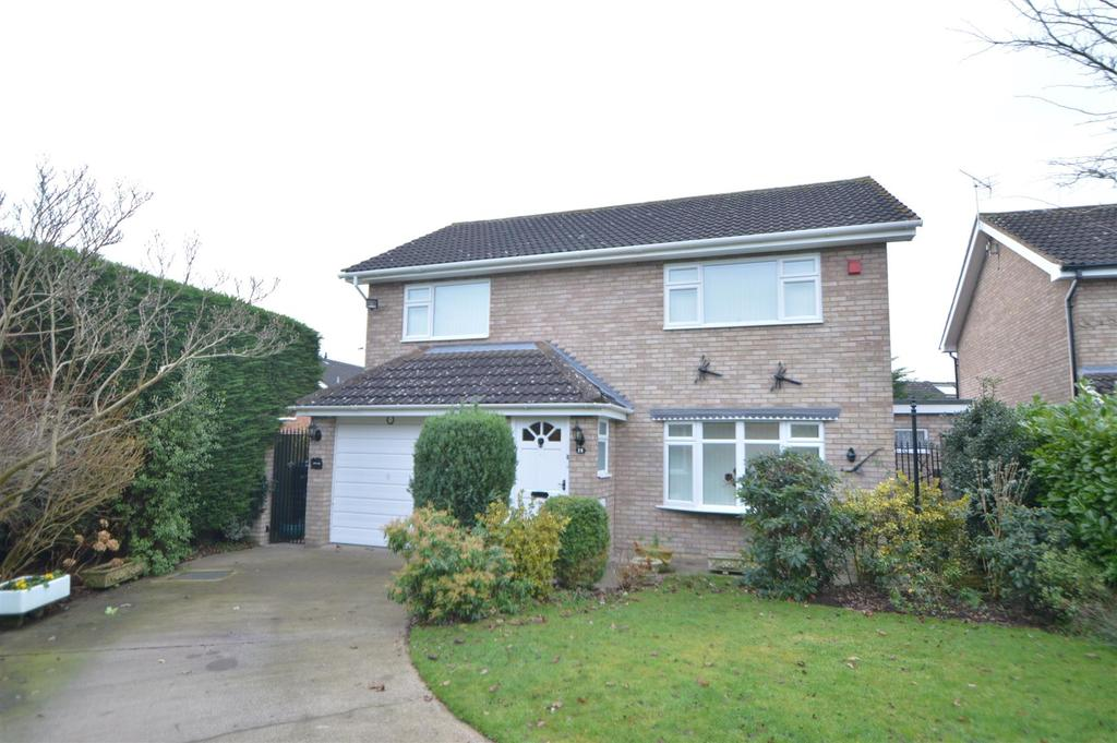 4 Bedrooms Detached House for sale in 14 Woodlark Close, Sundorne Grove, Shrewsbury, SY1 4TN