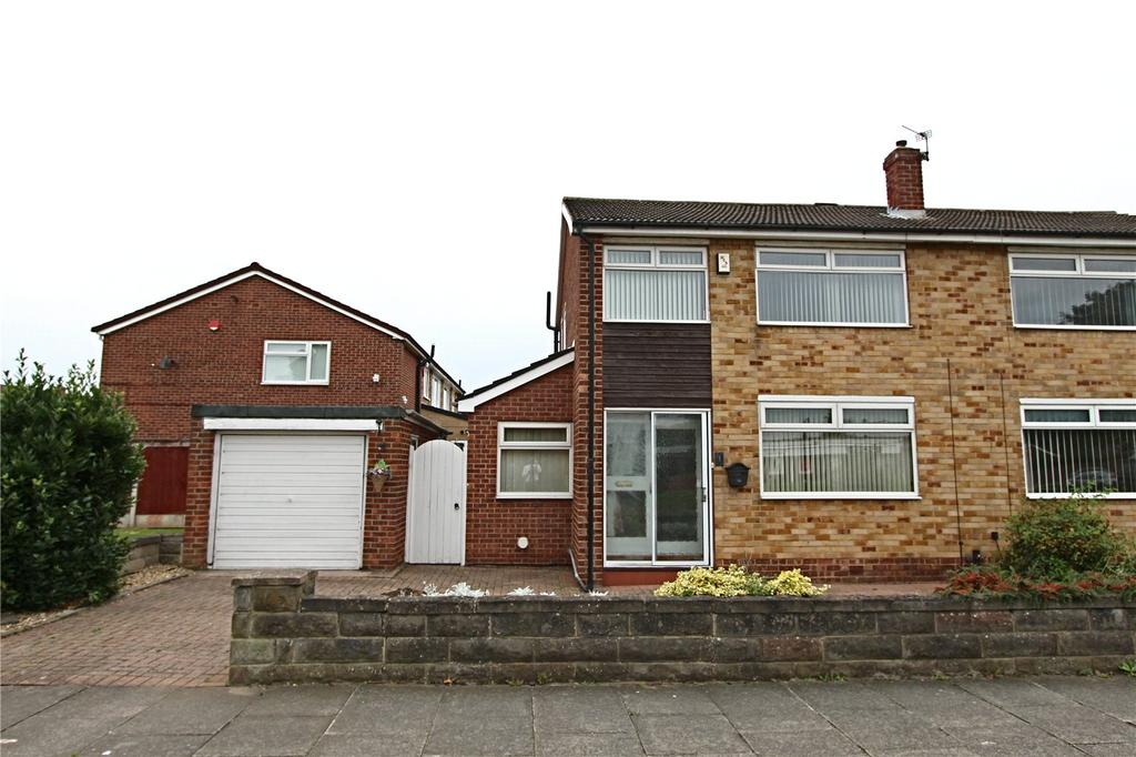 3 Bedrooms Semi Detached House for sale in Newton Drive, Thornaby