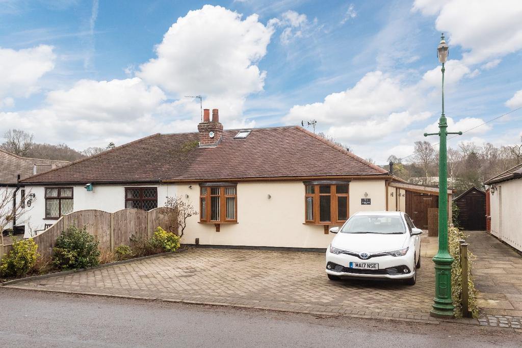 2 Bedrooms Semi Detached Bungalow for sale in Shrigley Road South, Poynton, Stockport