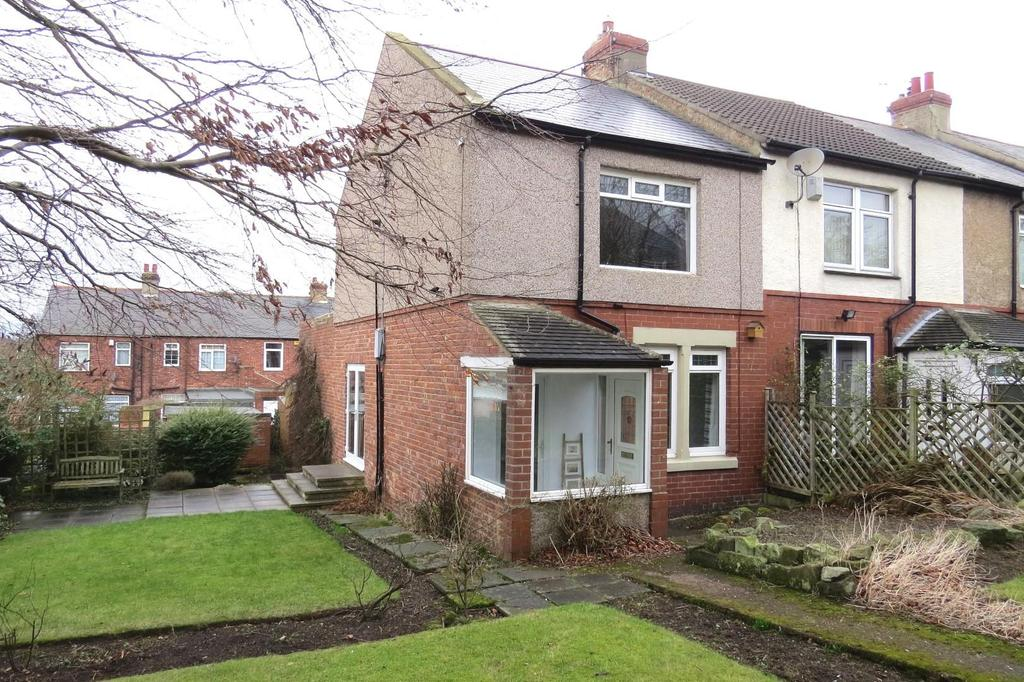 2 Bedrooms End Of Terrace House for sale in Hillside, Ashington