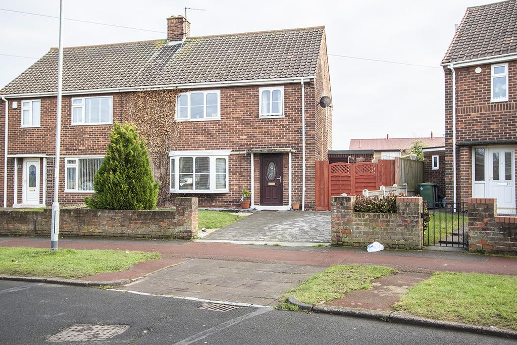 3 Bedrooms Semi Detached House for sale in Chaucer Avenue, Hartlepool TS25