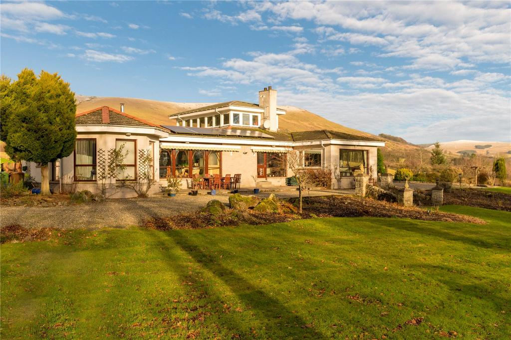 5 Bedrooms Detached Bungalow for sale in The Gean, Dollar, Clackmannanshire, FK14