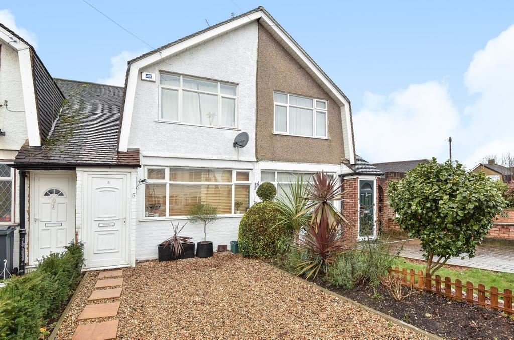 2 Bedrooms Terraced House for sale in Gloucester Road, Feltham, TW13