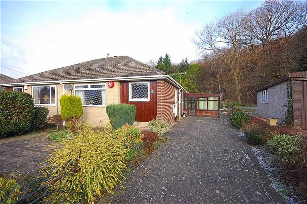 2 Bedrooms Semi Detached Bungalow for sale in Fenay Lea Drive, Waterloo, Huddersfield, HD5
