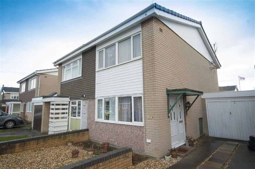 3 Bedrooms Semi Detached House for sale in Newfield Drive, Castlefields, Shrewsbury, Shropshire