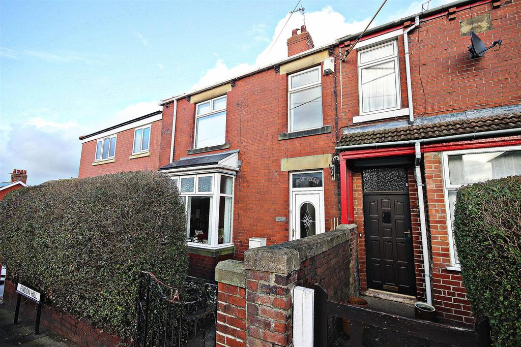 3 Bedrooms Terraced House for sale in Findon Hill, Sacriston, Durham