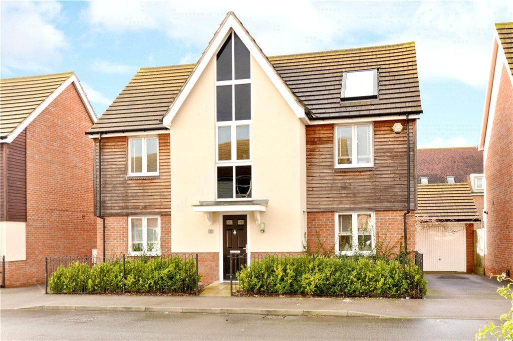 4 Bedrooms Detached House for sale in Harmans Cross, Broughton, Milton Keynes, Buckinghamshire