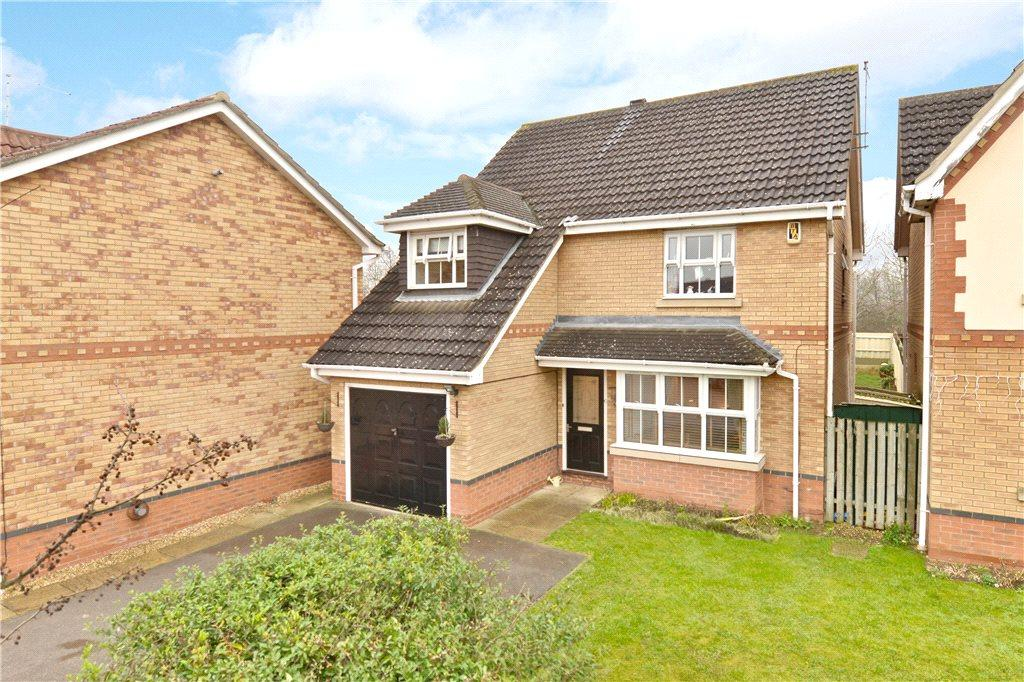 4 Bedrooms Detached House for sale in Cobblestone Court, Hunsbury Meadows, Northamptonshire