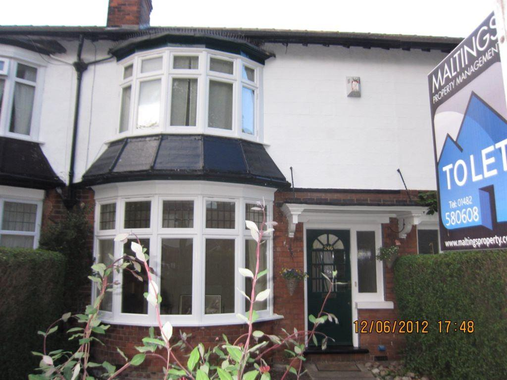 3 Bedrooms Terraced House for rent in 246 Victoria Avenue, Hull, HU5 3DZ