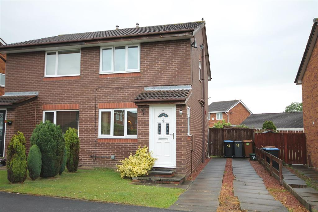 2 Bedrooms Semi Detached House for rent in Brook Close, Newton Aycliffe