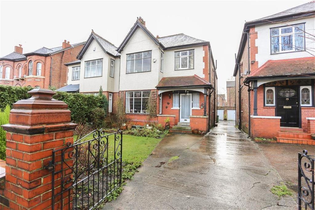 4 Bedrooms Semi Detached House for sale in Brownsville Road, Heaton Moor