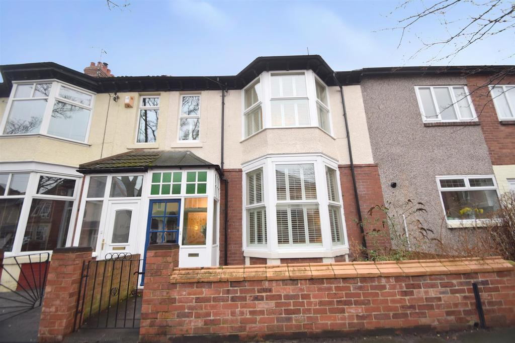 4 Bedrooms Terraced House for sale in Eastbourne Gardens, Whitley Bay