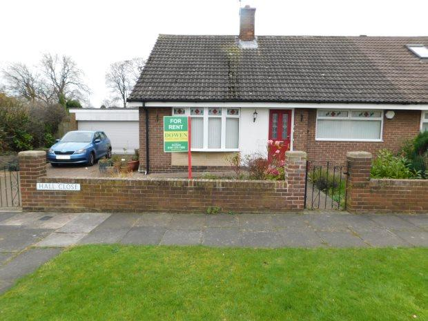 2 Bedrooms Semi Detached Bungalow for rent in HALL CLOSE, WEST RAINTON, DURHAM CITY : VILLAGES EAST OF