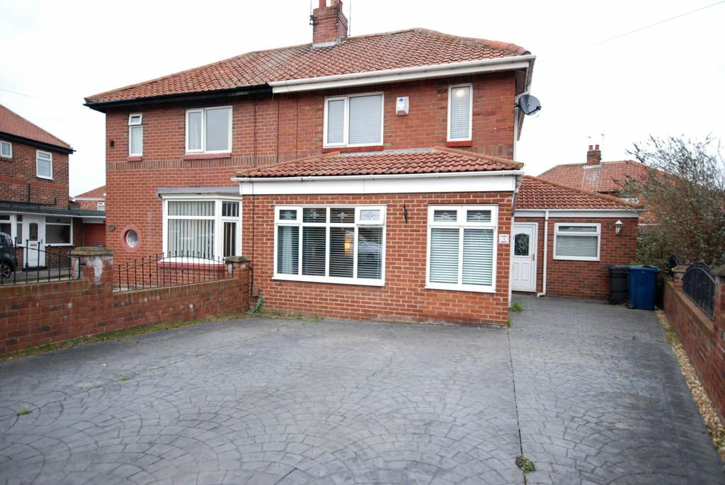 3 Bedrooms Semi Detached House for sale in Westhope Close, South Shields