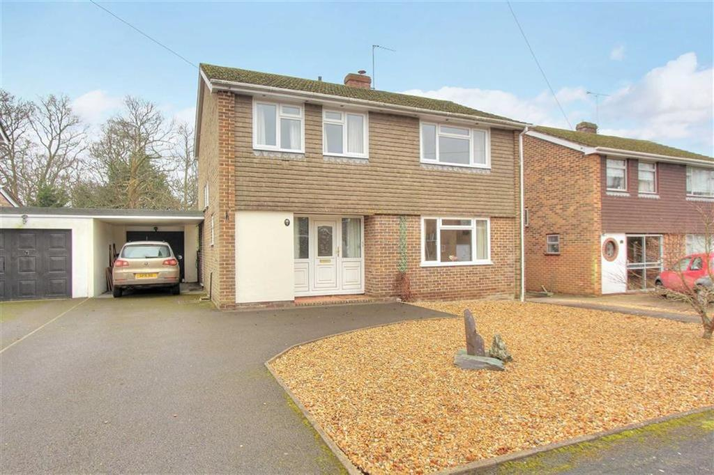 4 Bedrooms Detached House for sale in Hocombe Drive, Hiltingbury, Chandlers Ford, Hampshire