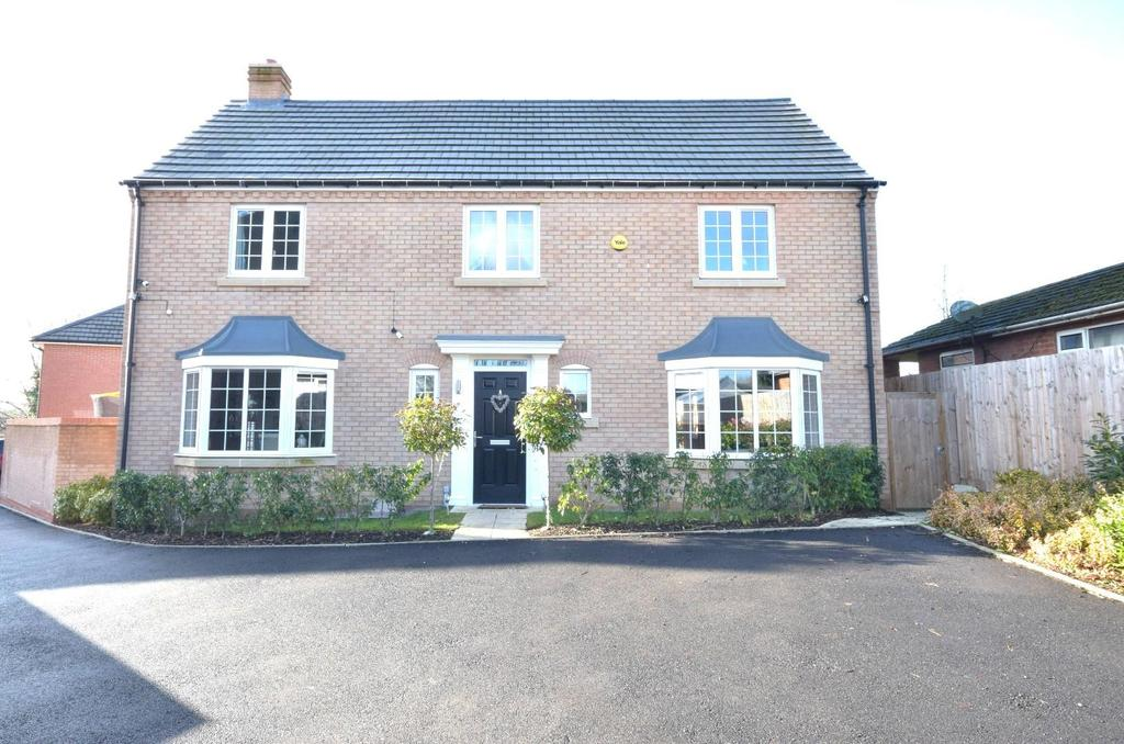 4 Bedrooms Detached House for sale in Wildacre Close, Desborough, Kettering