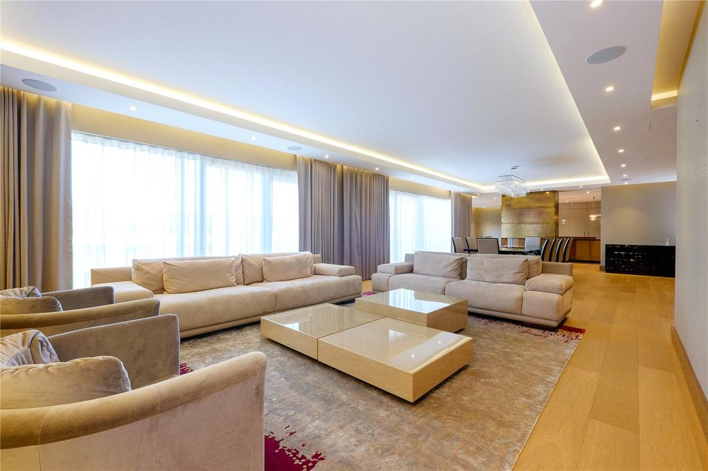 4 Bedrooms Penthouse Flat for sale in Meadows House, Chelsea Creek, London, SW6