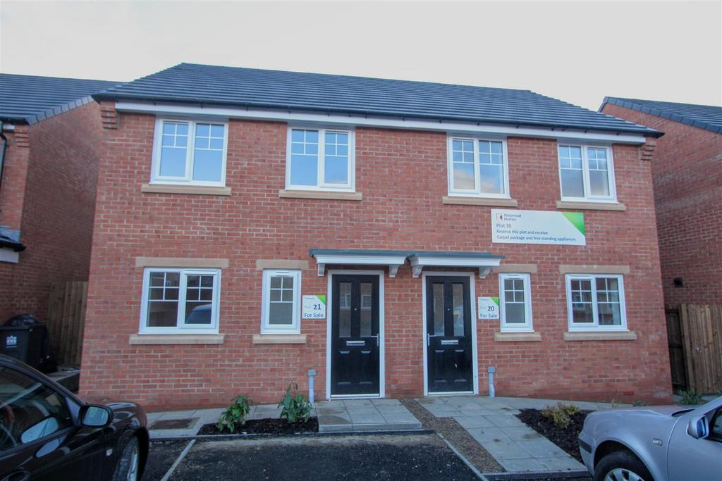 3 Bedrooms Semi Detached House for sale in School Street, Darlington