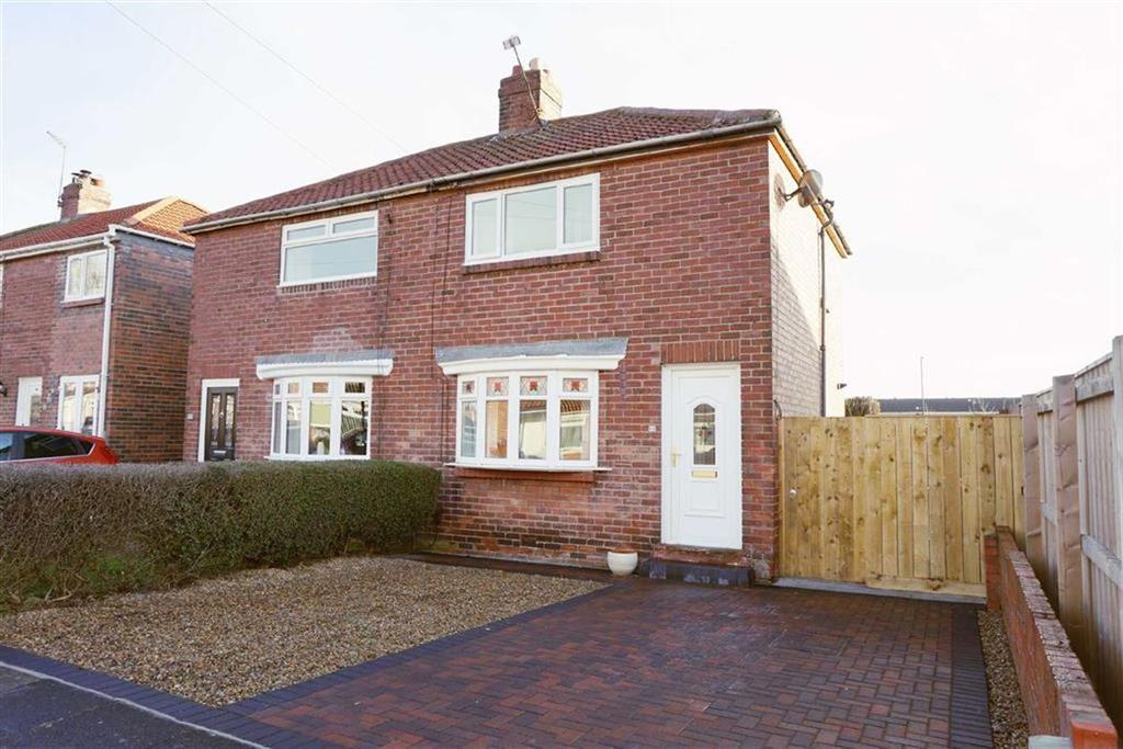 2 Bedrooms Semi Detached House for sale in Dinsdale Avenue, Kings Estate, Wallsend, NE28