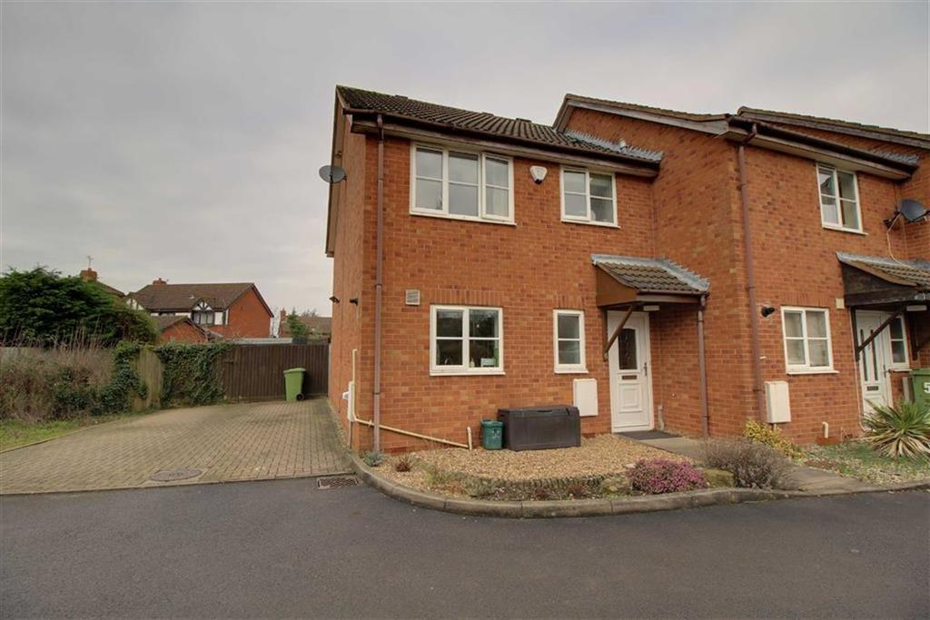 3 Bedrooms End Of Terrace House for sale in David French Court, Cheltenham, Gloucestershire