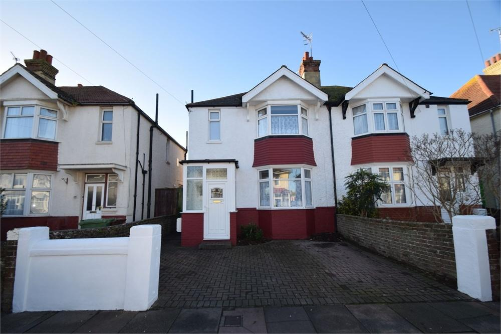 3 Bedrooms Semi Detached House for sale in Woodgate Road, Roselands, East Sussex