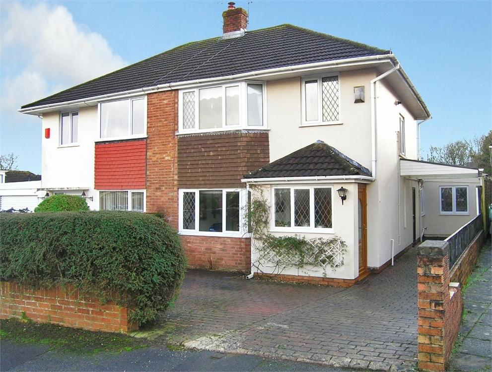 3 Bedrooms Semi Detached House for sale in The Fairway, Cyncoed, Cardiff