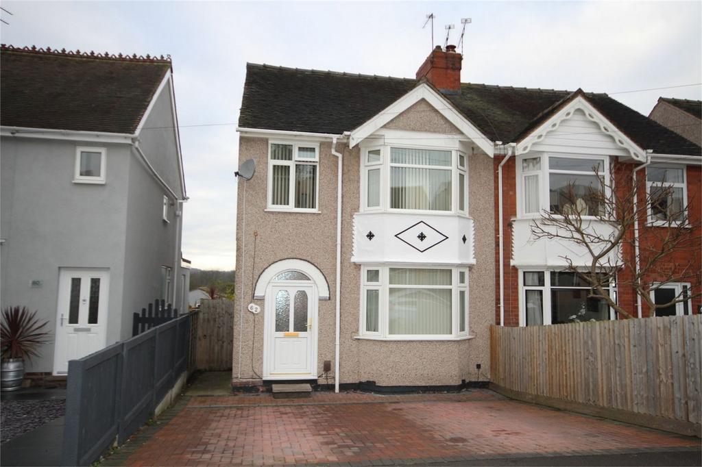 3 Bedrooms Semi Detached House for sale in Castle Road, Weddington, Nuneaton, Warwickshire