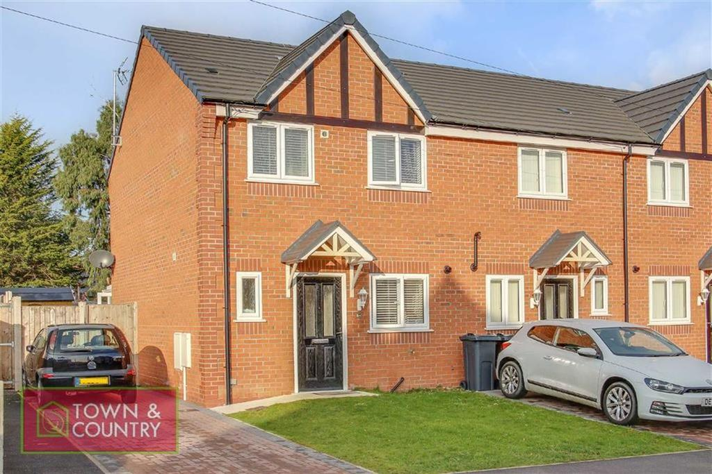 3 Bedrooms Terraced House for sale in King George Street, Shotton, Deeside, Flintshire