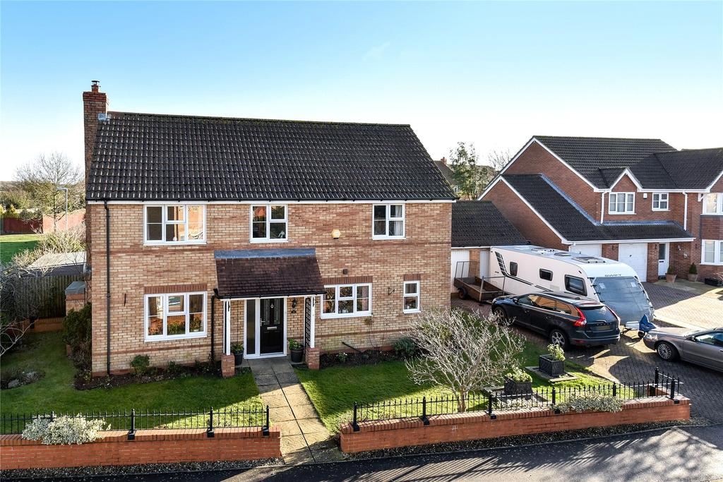 4 Bedrooms Detached House for sale in St Johns Drive, Corby Glen, NG33