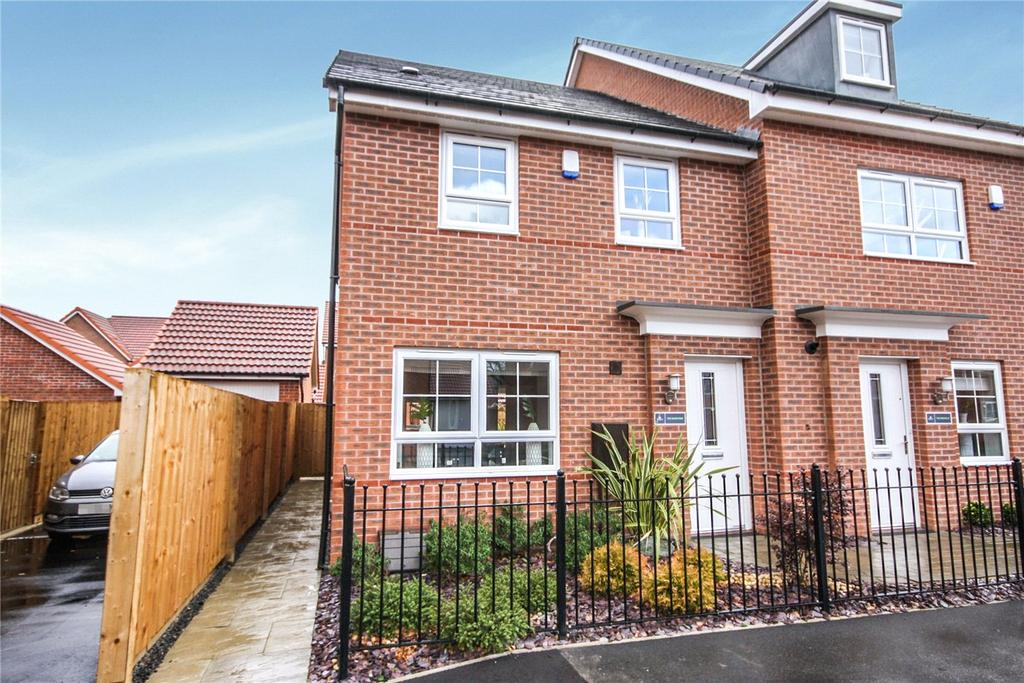 3 Bedrooms Semi Detached House for sale in Plot 95, Brutus Road, North Hykeham, Lincoln, LN6