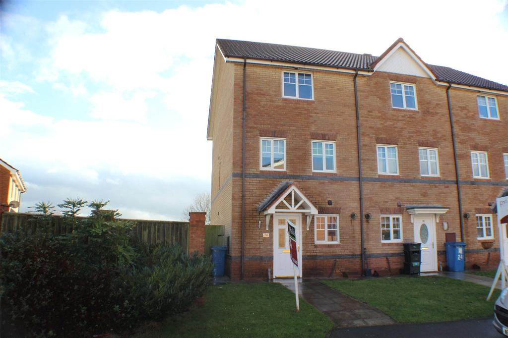 3 Bedrooms End Of Terrace House for sale in Bloom Avenue, Brymbo, Wrexham, LL11