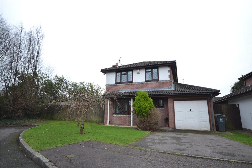 4 Bedrooms Detached House for sale in Cleddau Close, St. Mellons, Cardiff, CF3