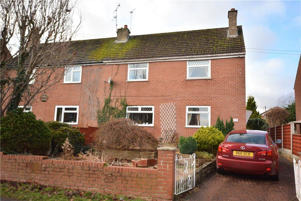 3 Bedrooms Semi Detached House for sale in Ainsty Crescent, Wetherby, West Yorkshire