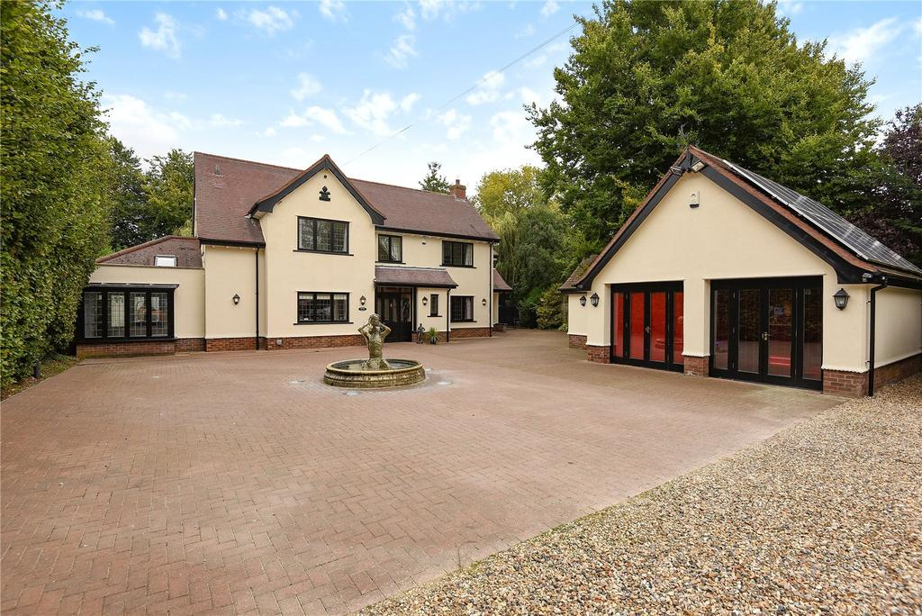 5 Bedrooms Detached House for sale in Broomstick Corner, Cheveley, Newmarket, Suffolk, CB8