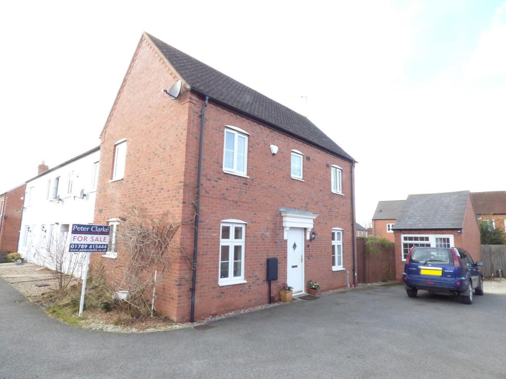 3 Bedrooms Semi Detached House for sale in Addison Mews, Stratford-Upon-Avon